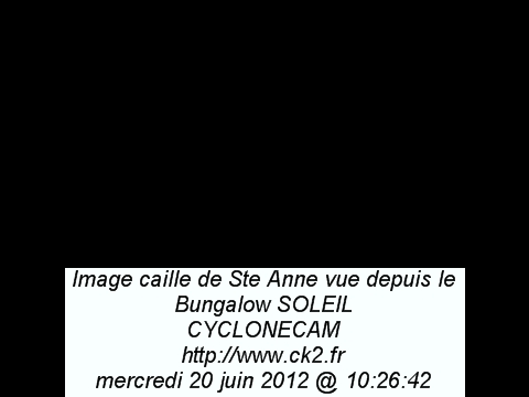 Guadeloupe webcam - Bungalow Soleil webcam, Guadeloupe, Guadeloupe